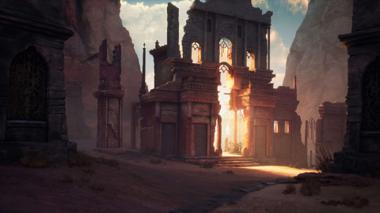 """Projekt """"Desert Gate"""" von Rene Völker"""